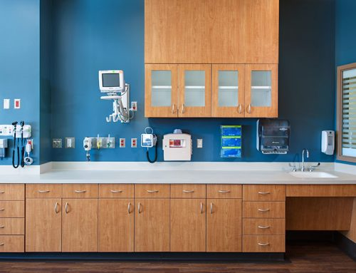 Medical Casework Built for Functionality and Technical Capabilities