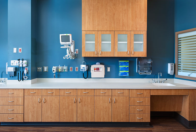 Medical Casework Built for Functionality and Capabilities