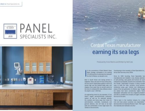 PSI Featured in Blueprint Magazine