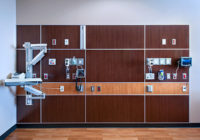 Parkland Hospital Patient Room Wall