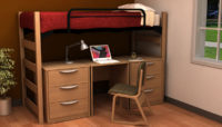 Residential Room 11 - Residence Hall Furniture