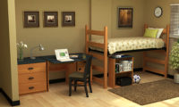 Residential Room 12 - Residence Hall Furniture