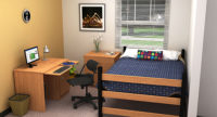 Residential Room 17 - Residence Hall Furniture